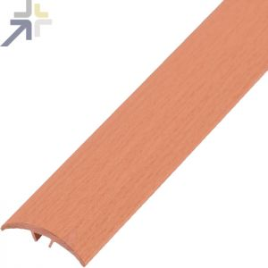 Dural Profilé de compensation Clipper Transition en aluminium coloris cherry T 2041/90